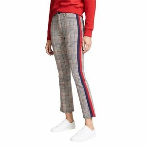 mother | the insider ankle plaid pants size 24
